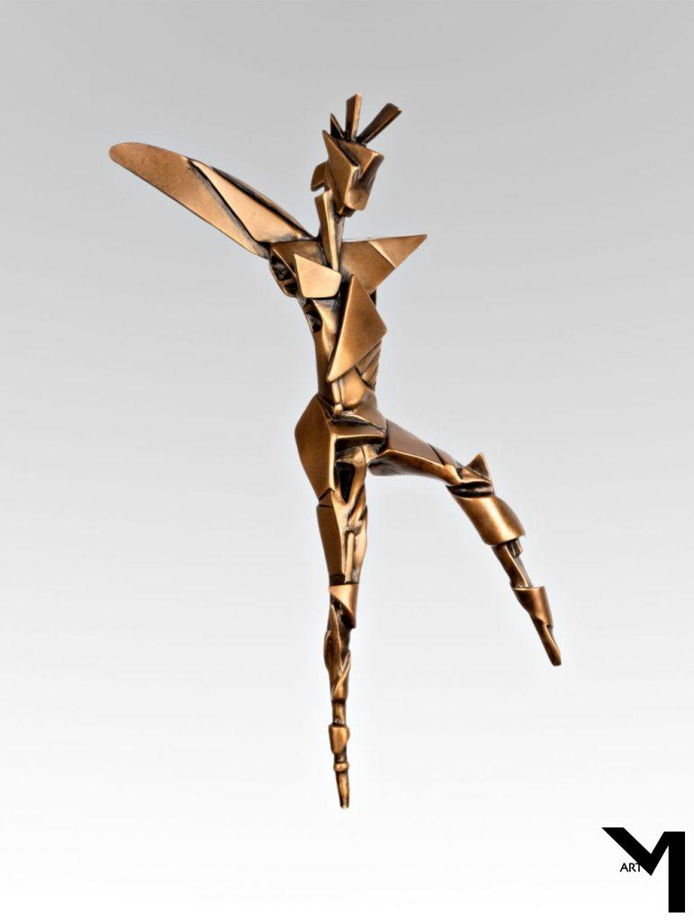 Avante-Garde Winged-sculpture copyright Julia S. Rasor